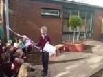 Official opening of St Columba's PS Gardens
